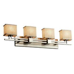 Favela Aero 4 Light LED Rectangle Vanity Light by Ebern Designs