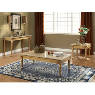Jaylan 3 Piece Coffee Table Set by Astoria Grand
