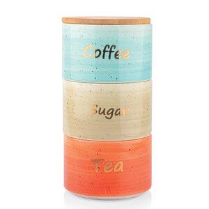 3 Piece Coffee, Tea, & Sugar Set