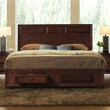 Beagan Solid Wood Low Profile Storage Platform Bed by Winston Porter