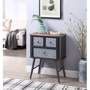Rooks End Table with Storage by Williston Forge