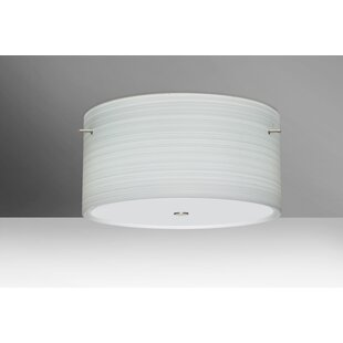 Find the perfect Tamburo 3-Light Outdoor Semi Flush Mount By Besa Lighting