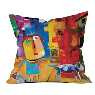 Robin Faye Gates Sylvia Needs Eggs Throw Pillow by Deny Designs Today Only Sale