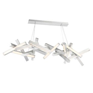Chaos 19-Light LED Geometric Chandelier by Modern Forms