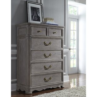 Yasmine 6 Drawer Chest by Rosdorf Park Purchase