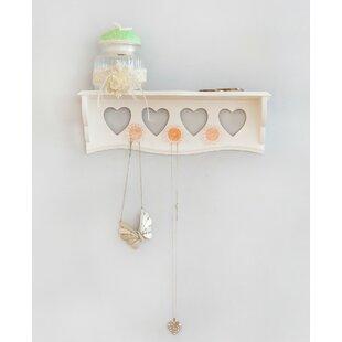 Purchase Heart Jewelry Hanging Organizer ByArtisanal Creations