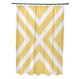 Breakwater Bay Layton Stripes Shower Curtain