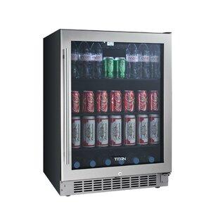 24-inch 5.49 cu. ft. undercounter Beverage Center