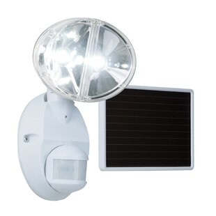 25-Watt LED Solar Power Outdoor Security Flood Light with Motion Sensor by Cooper Lighting LLC