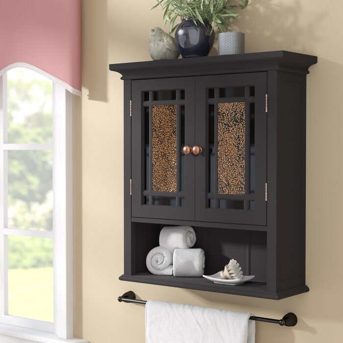 "Caleb 22"" W x 24"" H x 7"" D Wall Mounted Bathroom Cabinet"