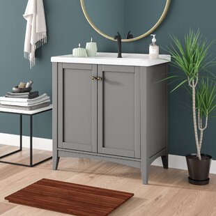 Maegan 32 Single Bathroom Vanity Set