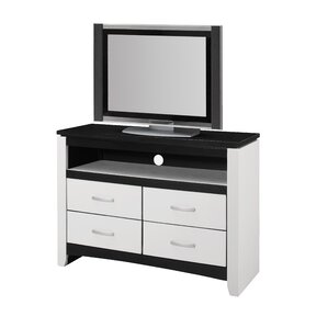 Latitude Run Bombay 4 Drawer Media Chest