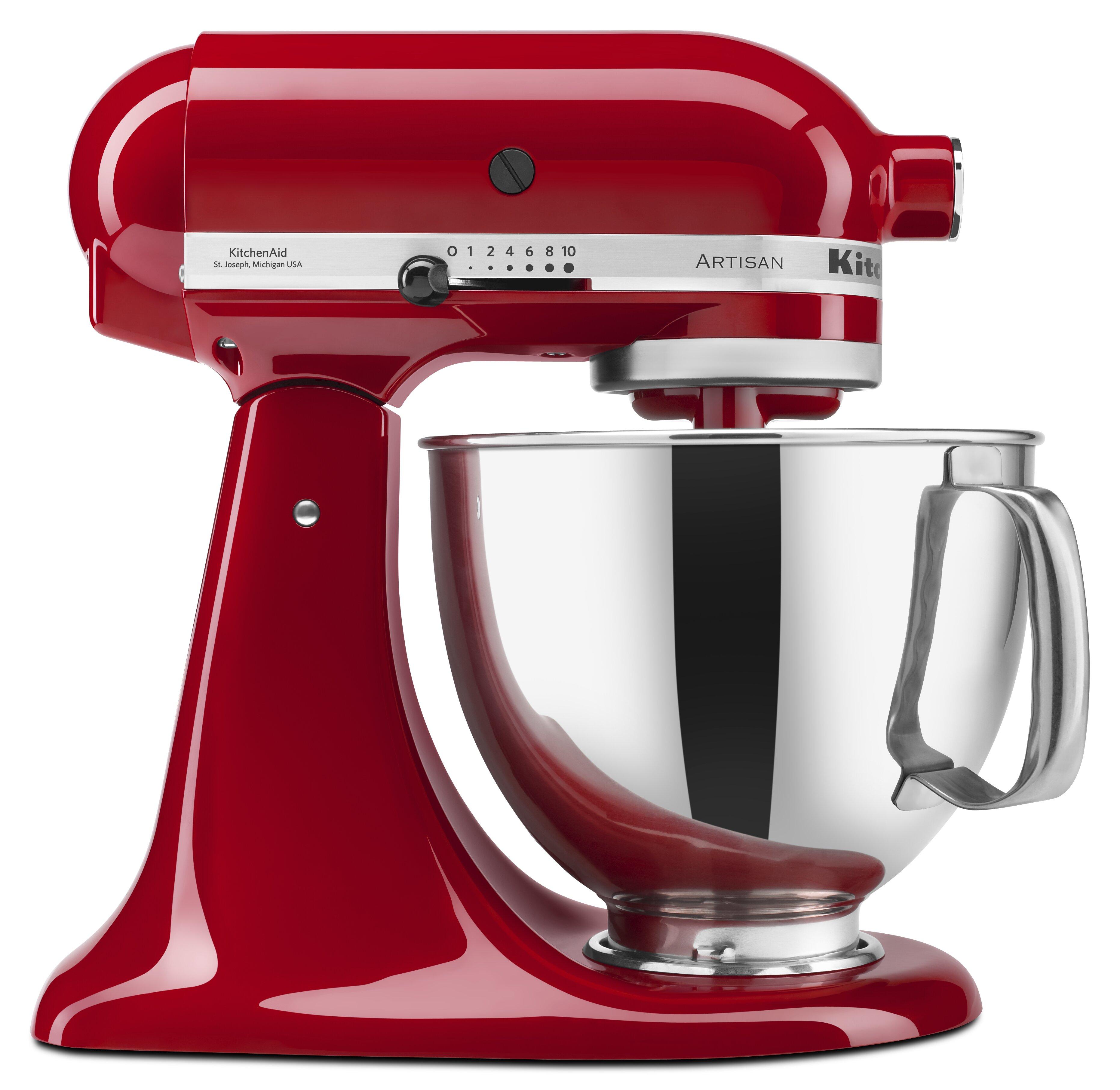 Kitchenaid 10 Sd 5 Qt Stand Mixer Ksm150 Reviews Wayfair