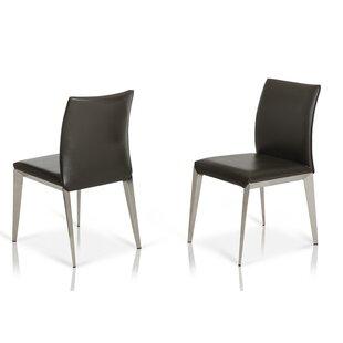 Clower Modern Parsons Dining Chair (Set o..