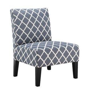 Lisette Slipper Chair by Andover Mills