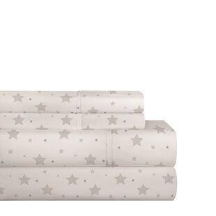 Meleedy Star Dance 200 Thread Count 100% Cotton Sheet Set by Latitude Run Looking for