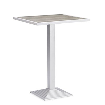 Feickert Aluminum Bar Table by Highland Dunes 2020 Coupon