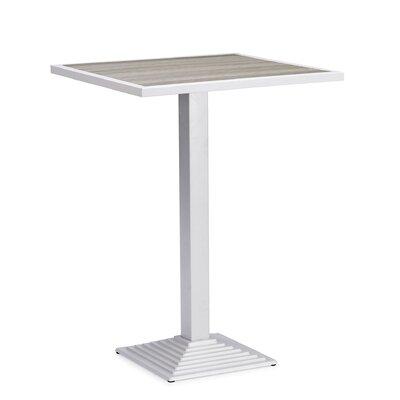 Feickert Aluminum Bar Table by Highland Dunes Best Design