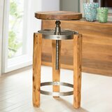 Crittenden Adjustable Height Bar Stool by Williston Forge