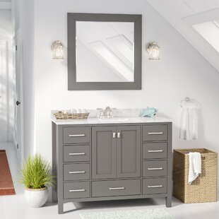 Newtown 48 Single Vanity Set with Mirror