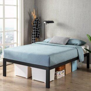 Velez 18 Steel Platform Bed by Alwyn Home