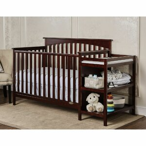 Chloe 3-in-1 Convertible Crib and Changer Combo