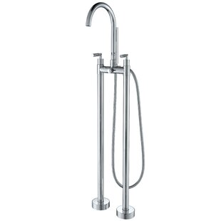 Check Prices Diverter Tub and Shower Faucet with Double Handle By AKDY