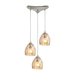 Victor 3-Light Pendant by Orren Ellis