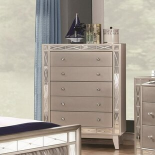 Everly Quinn Cecere 5 Drawer Chest