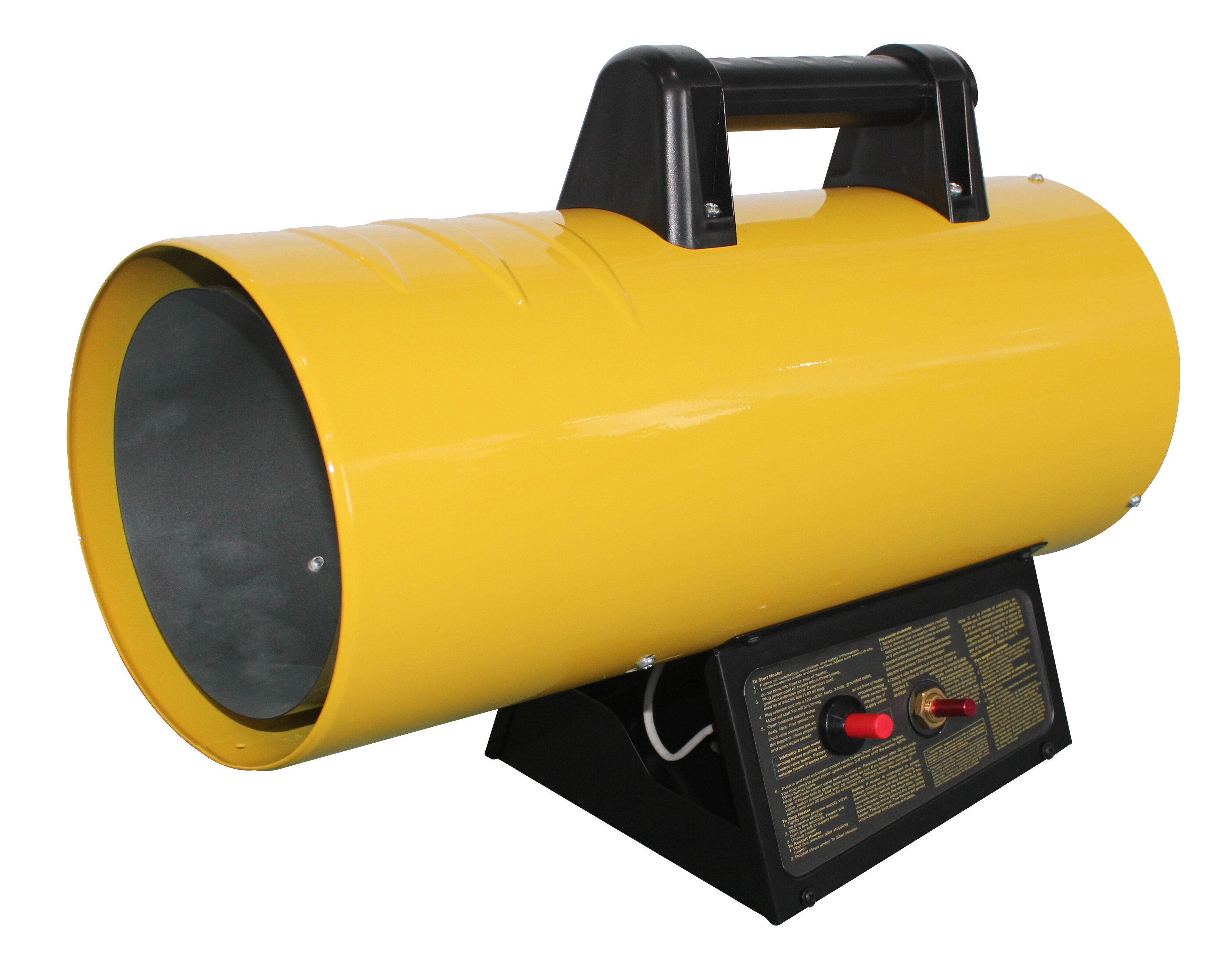 AZ Patio Heaters 40,000 BTU Propane Forced Air Utility Heater | Wayfair