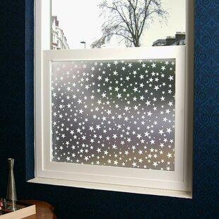 Star Struck Privacy Window Film by Stick Pretty