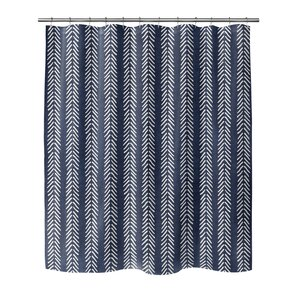 Couturier Shower Curtain with Hooks