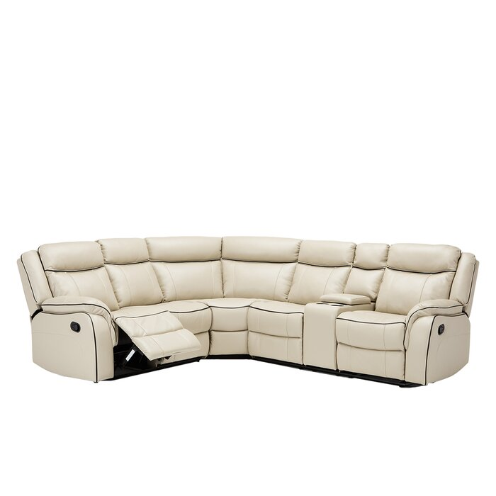 Strange Gloucester Symmetrical Classic Reclining Sectional Evergreenethics Interior Chair Design Evergreenethicsorg