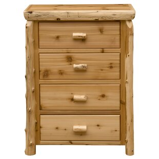 Premium Cedar 4 Drawer Lingerie Chest