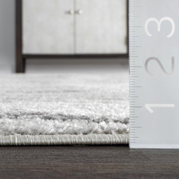 Mercury Row Mcphee Geometric Gray Area Rug Reviews Wayfair