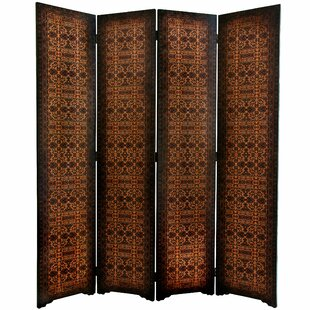 Clair European 4 Panel Room Divider by World Menagerie