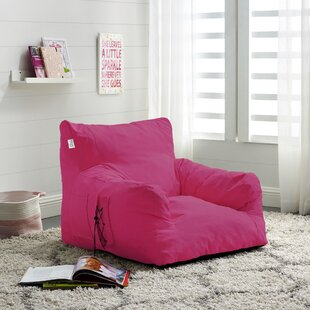 Comfy Nylon Bean Bag Lounger by Inspired Home Co.