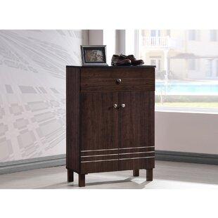 Winston Porter Ingalls 9-Pair Shoe Storage Cabinet