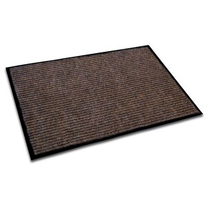 Hastings Rectangular Indoor Ribbed Entrance Doormat