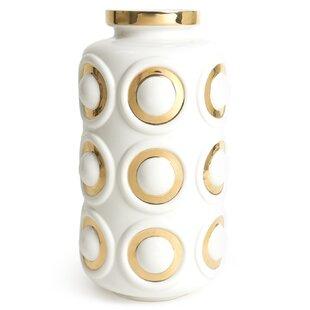 Futura Circles Table Vase by Jonathan Adler