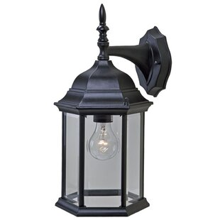 Reviews Pritzker 1-Light Outdoor Wall Lantern By Charlton Home