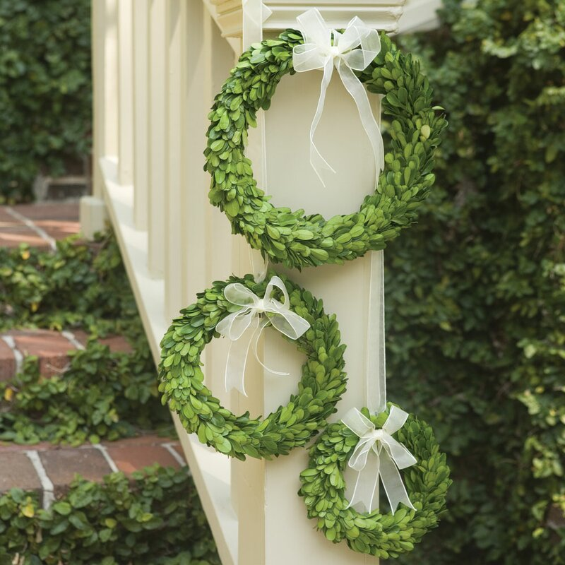 Preserved 10in. Greenery Wreath