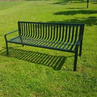Wobnar Steel Traditional Bench By Rosalind Wheeler