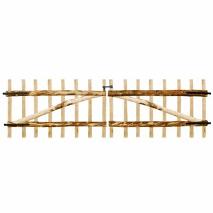 Mountain Meadows 10' X 3' (3m X 0.9m) Wood Gate By Union Rustic