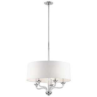 Darby Home Co Bourbon 5-Light Chandelier