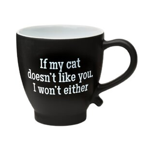 Lamas If My Cat Doesn't Like You I won't Either Coffee Mug
