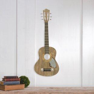 Wood Guitar Decor Wayfair