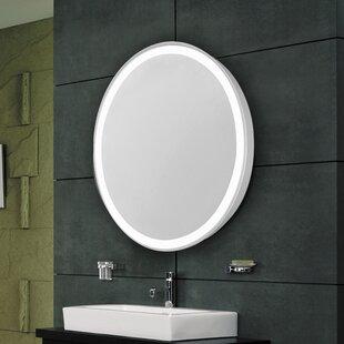 Comparison Sven Edge Electric Bathroom/Vanity Mirror ByLatitude Run