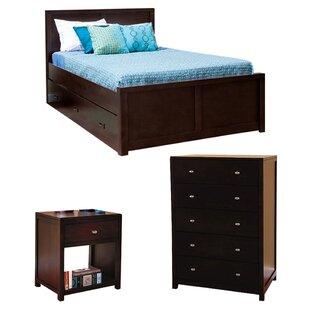 Edmonson Full Platform Configurable Bedroom Set by Harriet Bee