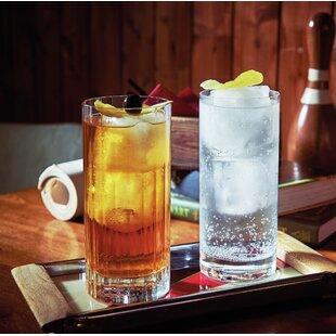 Bach Beverage 16.25 Oz. Glass Highball Glass (Set of 4)
